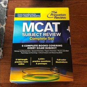 MCAT preparation books